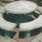 Miza z štirimi klopmi-cena 450€
