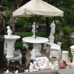 izdelki iz belega cementa