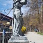 podporni okrasni steber višine od 200-260 cm,teža približno 750 kg